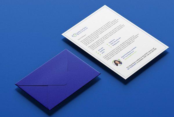 letter and envelope design